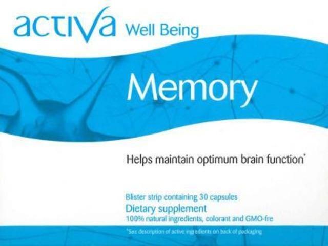 Activa memory(メモリー)記憶の衰えや試験勉強などでさらなる記憶力改善などに!