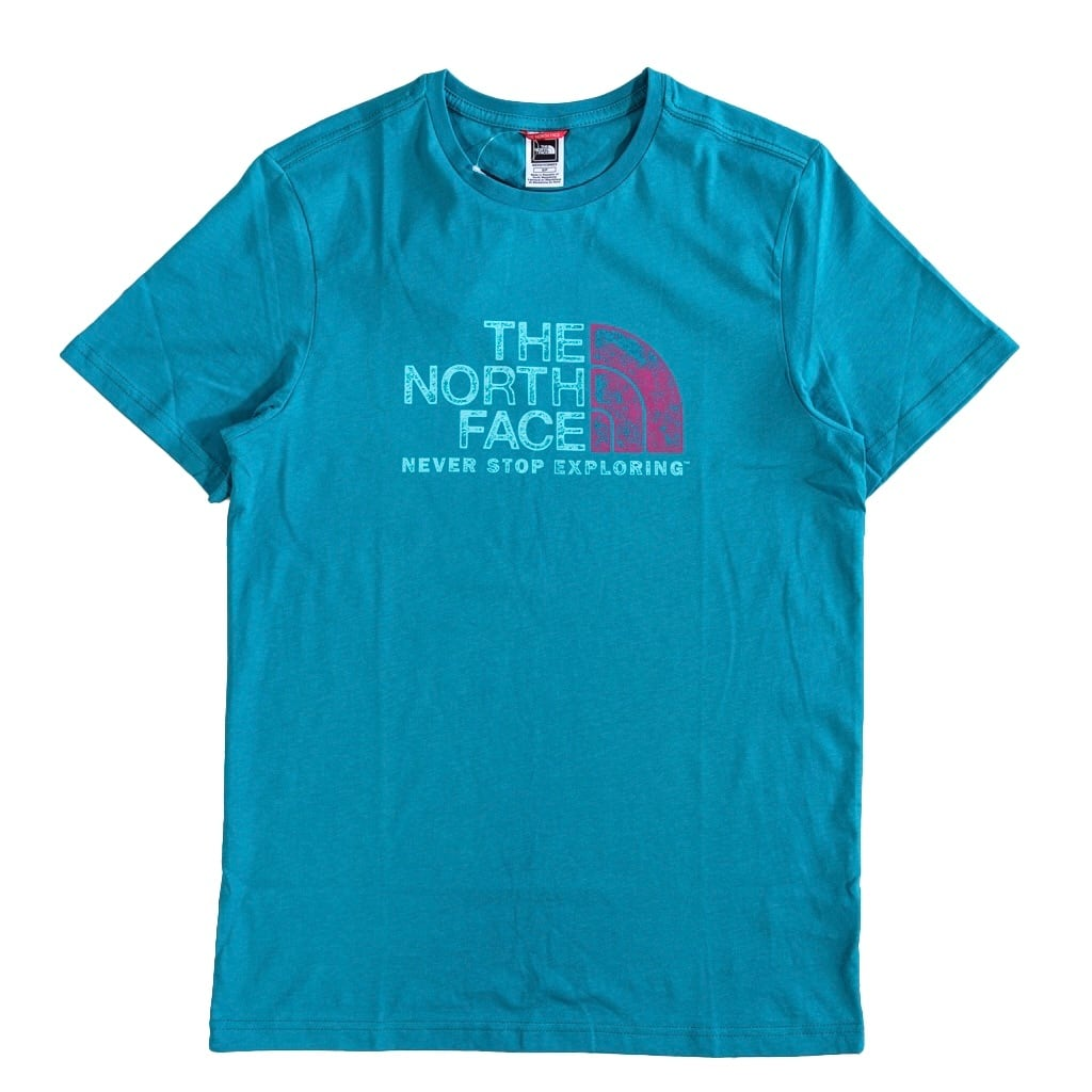 TNF Rust 2 t-shirt / light green