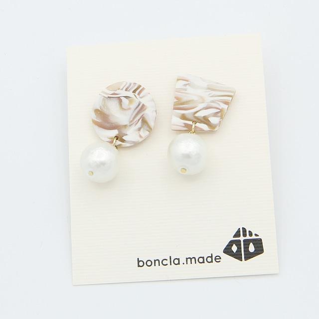 boncla.made/ボンクラメイド/パールピアス/159