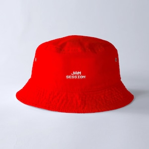 JAM SESSION BUCKET HAT (RED)