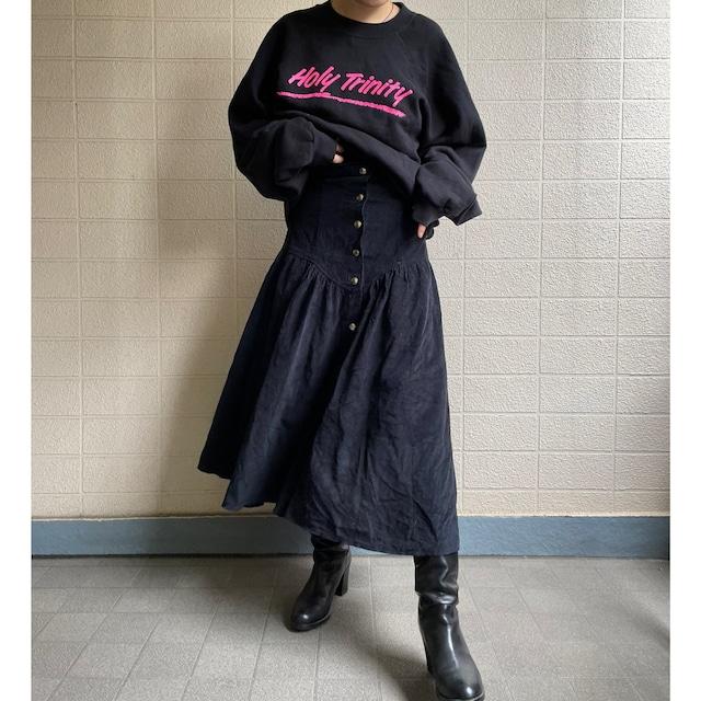 zebra pleats middle skirt