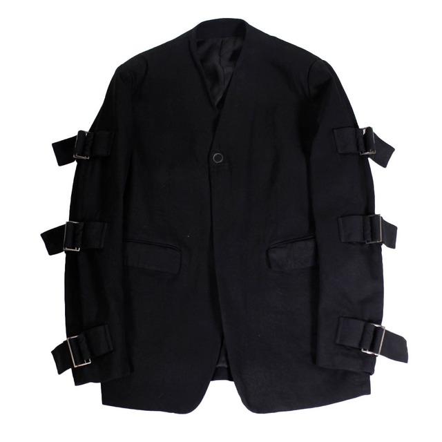 ALMOSTBLACK Black Denim Jacket