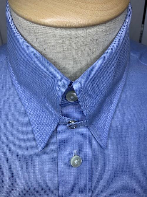 シャツ(単品)Lサイズ、タブカラー オックスフォード