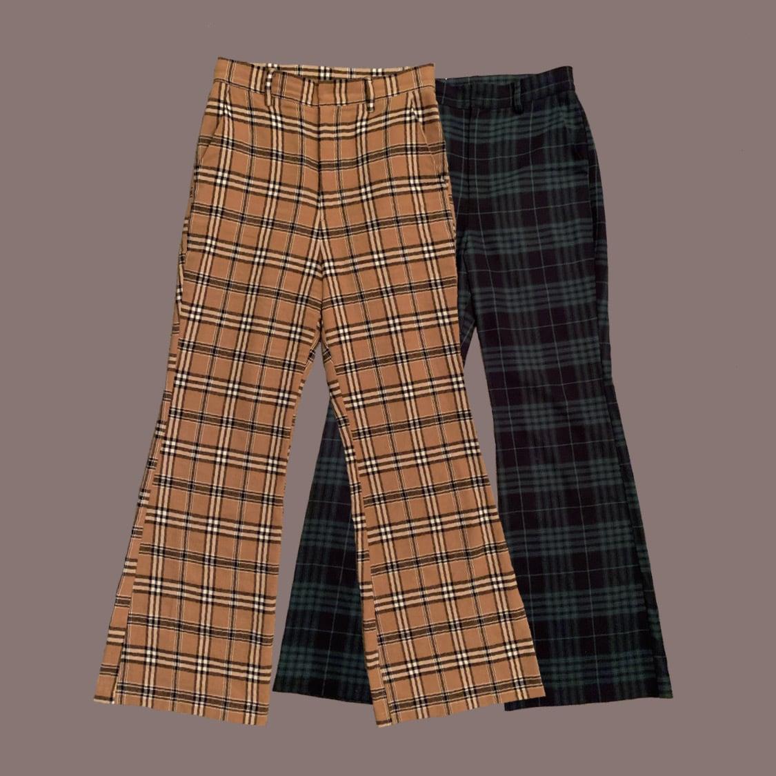 Désir original London check pants