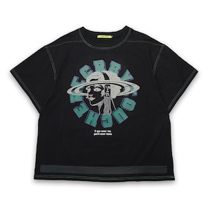 T.C.R TRYING S/S TEE - BLACK