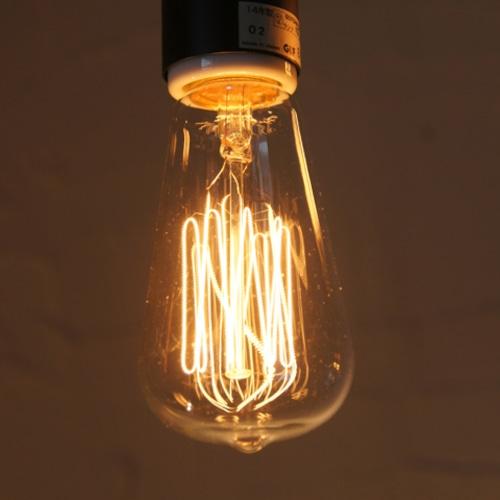E26 60W レトロランプ (白熱電球) ※電球のみ