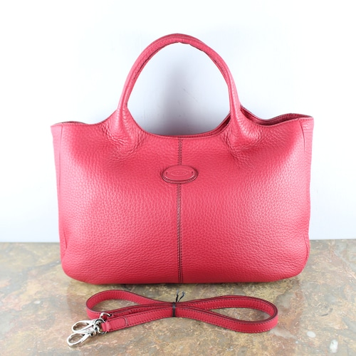 .TOD'S LEATHER 2WAY SHOULDER BAG MADE IN ITALY/トッズレザー2wayショルダーバッグ2000000051949
