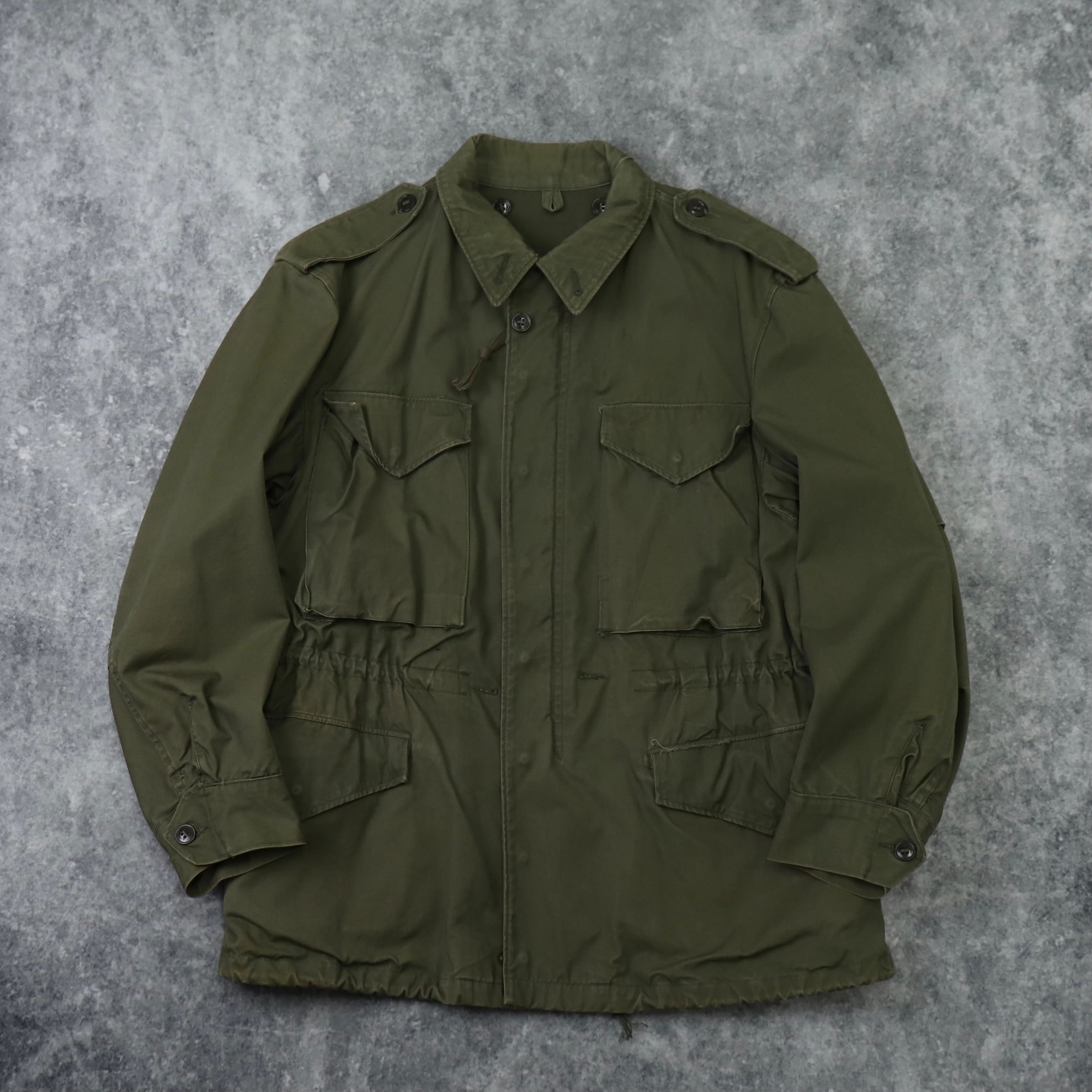 50's  M-51  Field  Jacket   M-R   50年代   m51  フィールドジャケット   ミディアムレギュラー 古着 ミリタリー A571