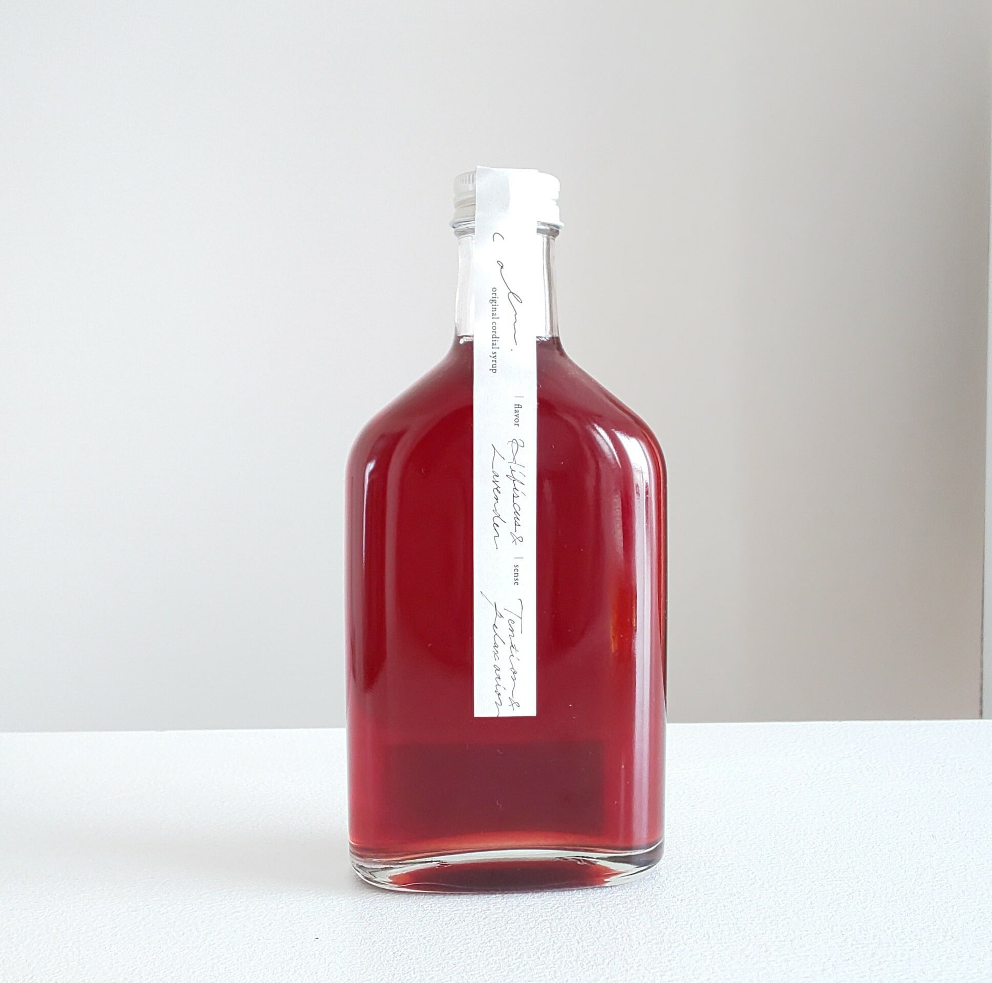Hibiscus & Lavender syrup