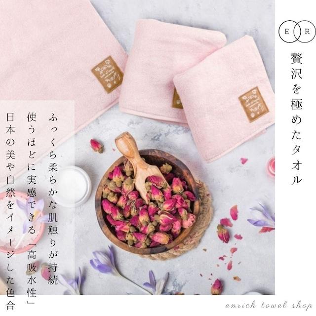 【ハンカチタオル】 -桜-  贅沢な肌触りが持続する今治タオル 喜ばれる贈り物、誕生日プレゼントや女性、友人へのギフトに!包装あり