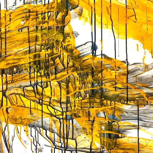 絵画 絵 ピクチャー 縁起画 モダン シェアハウス アートパネル アート art 14cm×14cm 一人暮らし 送料無料 インテリア 雑貨 壁掛け 置物 おしゃれ 抽象画 現代アート ロココロ 画家 : tamajapan 作品 : t-29