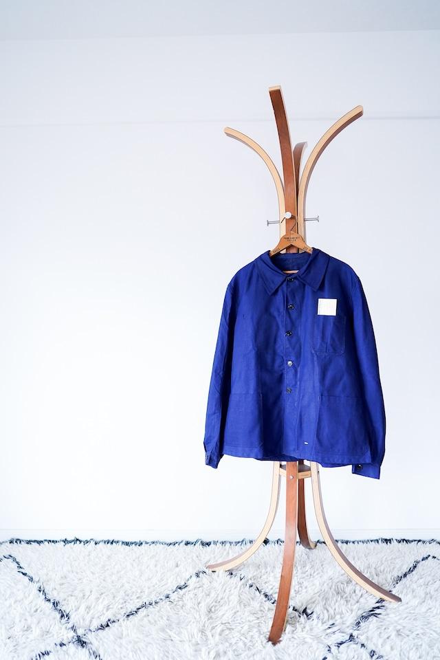 "【1940s, Deadstock】""Le Bucheur"" French Work JKT, Cotton Twill / v582"