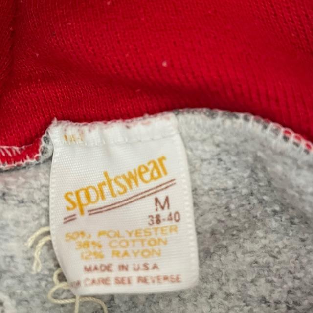 70s~80s U.S line sleeve sweat
