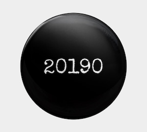 """ 20190 "" badge(シンプル ver.)"