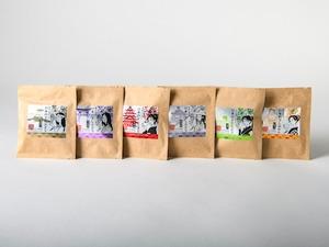 日本の干しぶどう「シャインマスカット・ピオーネ・巨峰・ミックス・みかん・フルーツトマト」6種×8セット