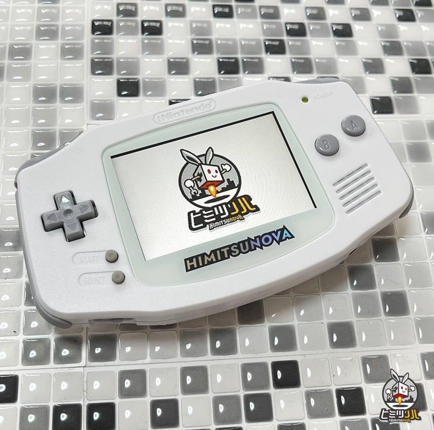 GBA ~White & Gray~