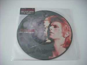 """【7"""" PICTURE DISC】DAVID BOWIE / JOHN, I'M ONLY DANCING"""