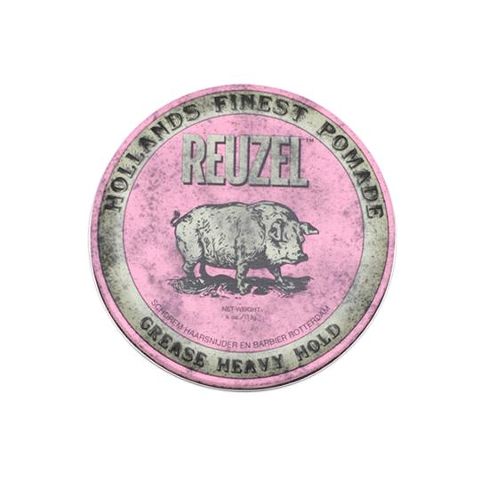 Reuzel(ルーゾー)  ピンクポマード 油性ストロングホールド ピンク缶 113g