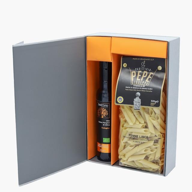 イタリア産 オリーブオイル&パスタ 食品ギフトセット