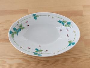 楕円鉢 ワイルドストロベリー (工房直売価格)