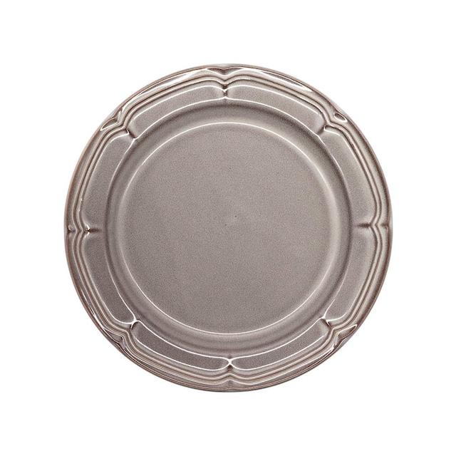 Koyo ラフィネ リムプレート 皿 21.5cm ストームグレー 15973105