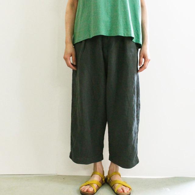 BROCANTE ブロカント グランクールトラウザー  33-285L リネンキャンバス ワイド短め丈パンツ