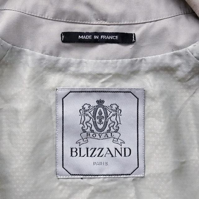 "【MADE IN FRANCE】BLIZZAND ゴアテックスステンカラーコート ""IMPERMEABLE TECHNIQUE"""