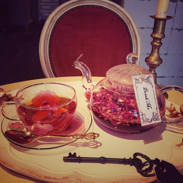 【フレーバーティー.紅茶】ビューティーローズ バニラティー❁⃘*.゚