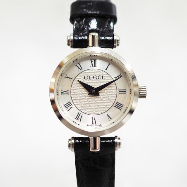 GUCCI グッチ 2040L SS シルバー文字盤 クォーツ 腕時計 レディース