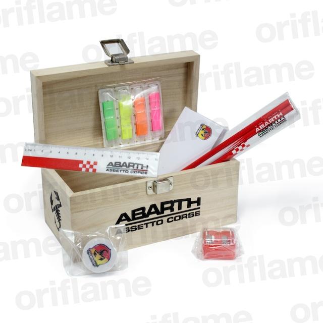 ABARTH・WOODEN・PENCIL・BOX