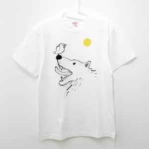 『オオカミに育てられた文鳥』T-shirt