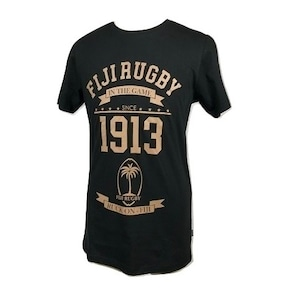 Fiji Rugby Tshirt Black
