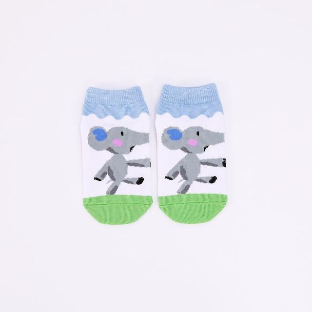 靴下 キッズ/ぐるんぱ 【ぐるんぱのようちえん】【絵本のくつした】