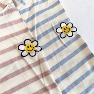 flower border cut sew[2103-46]