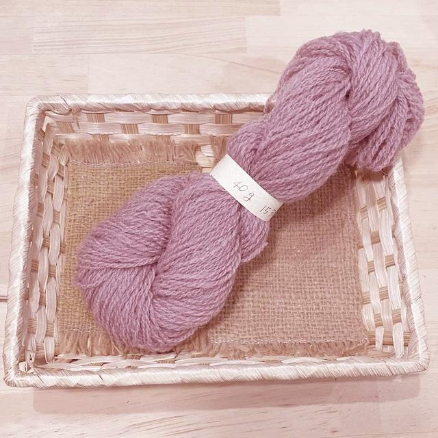 At3) ラベンダー色のサフォーク双糸