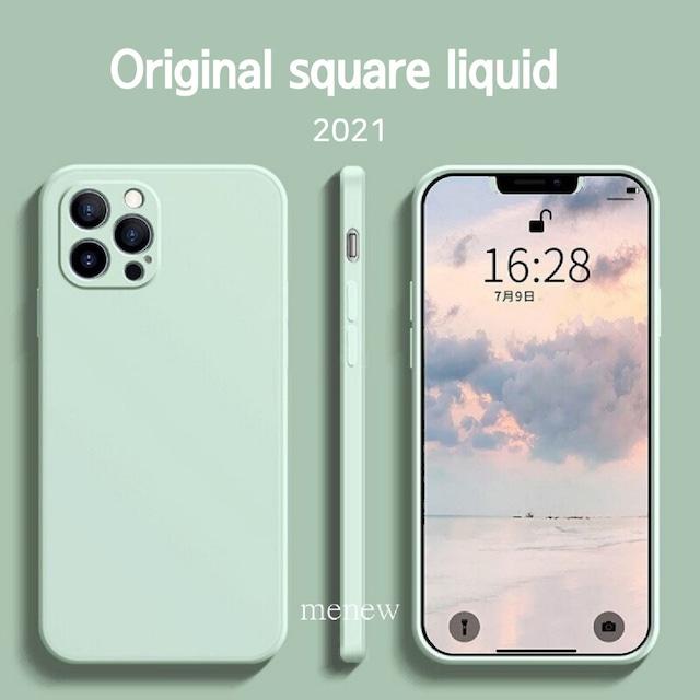 Original square liquid iphone case