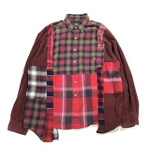 REMAKE  SHIRTS リメイクチェックシャツ【Shirts29】