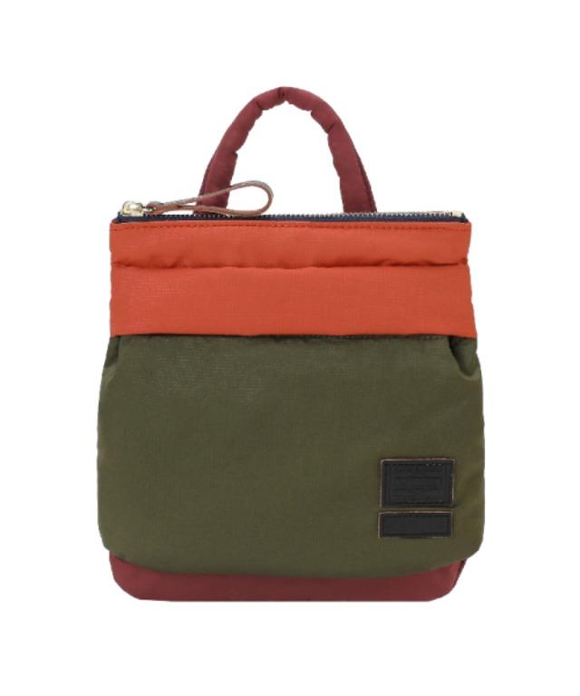 MARNI ×PORTER MINI HELMET BAG-1 Pocket KHAKI