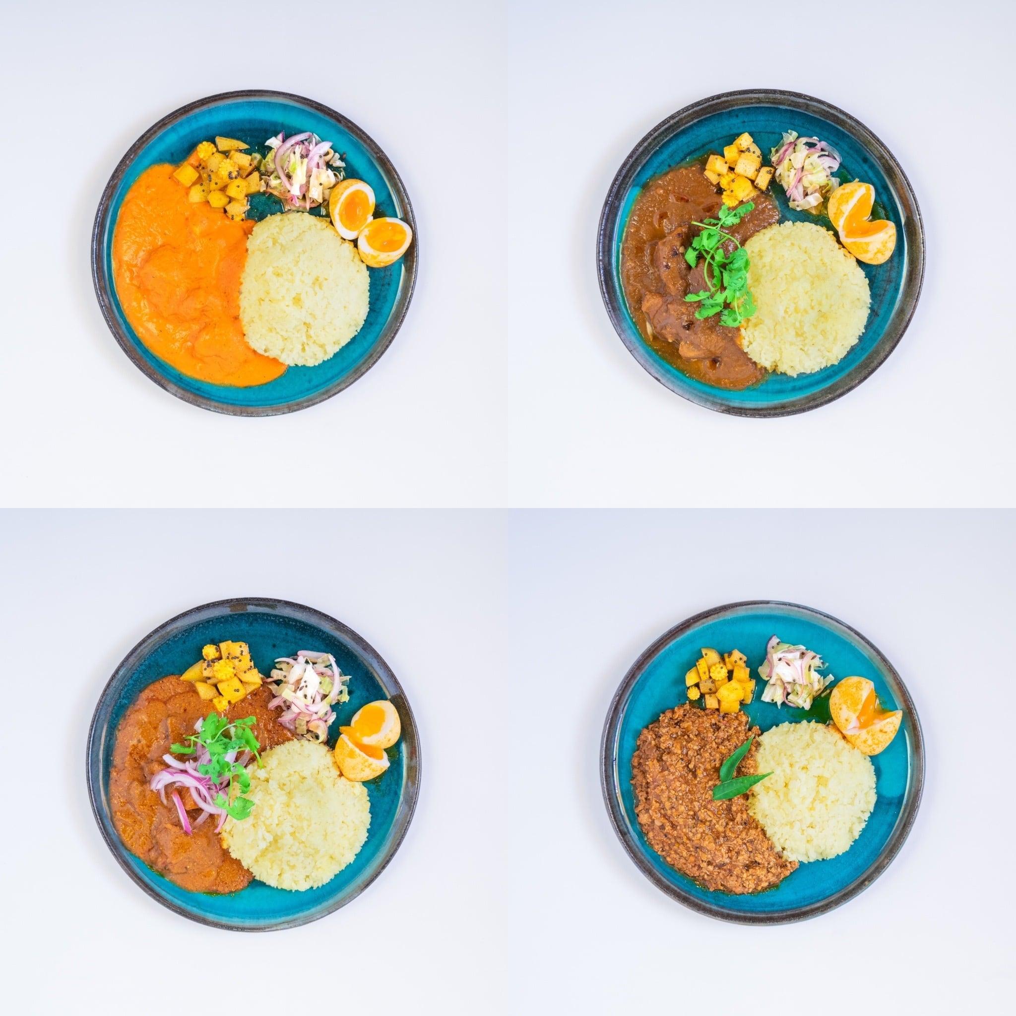 カレー4種類(1人前×4)