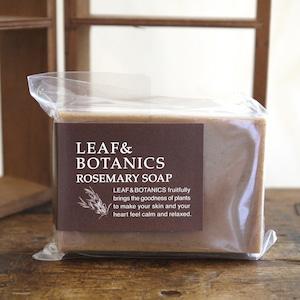 <松山油脂 LEAF&BOTANICS>マザーソープ ローズマリー