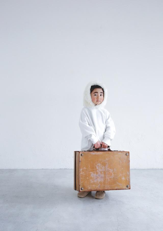 【21AW】ミチリコ(michirico) Fur foodie white【S・M】スウェット