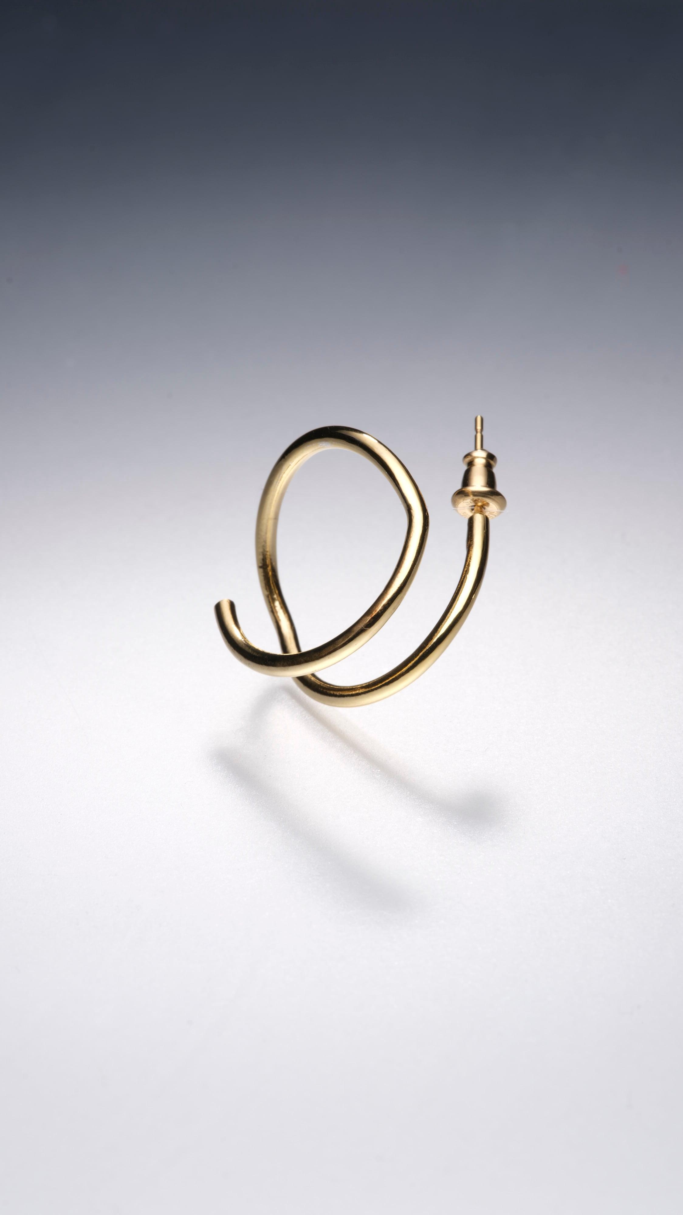 gold ringing M(右耳用)(CAAC-P008)