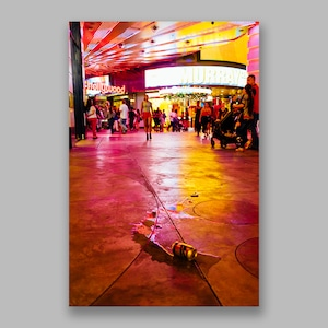 Postcard「Night Mood Las Vegas」13cm×18cm Original Print