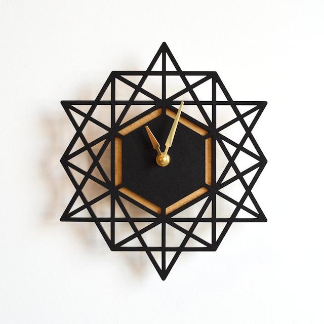 Modern Geometry モダン・ジオメトリーの掛け時計 Lサイズ