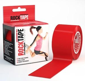 ロックテープ-スタンダード-レッド / ROCKTAPE 5cm*5m  standard  Red