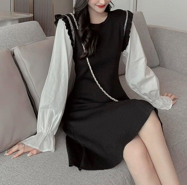 sleeve change dress