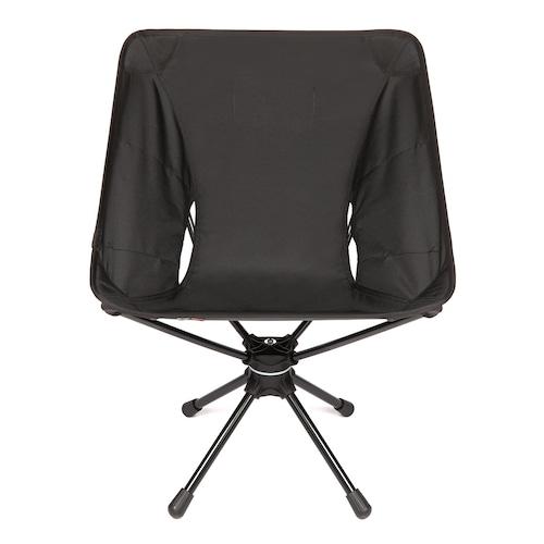 【送料無料】Helinox(ヘリノックス)Tactical Swivel Chair タクティカル スウィベルチェア ブラック