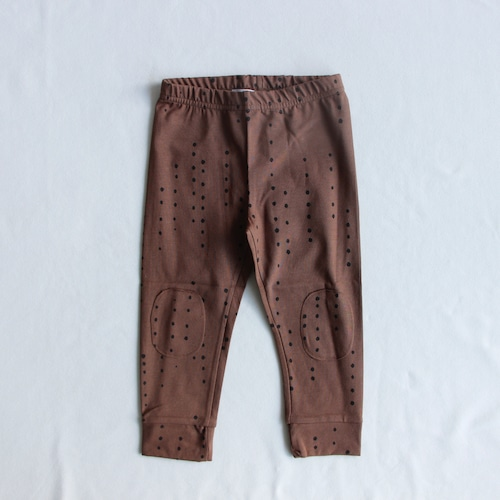 《MINGO. 2021AW》Legging / Dewdrops Burnished Leather