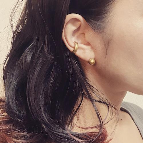 Solid brass earcuff B-087