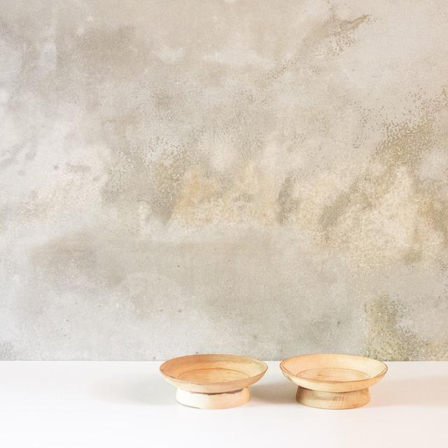 漆剥離の台皿